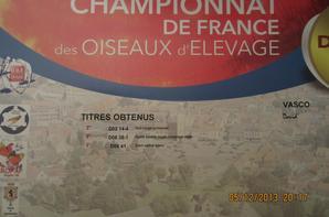 résultats championnat de France 2013
