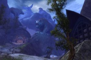 Photos d'écran du site officiel Guild Wars 2