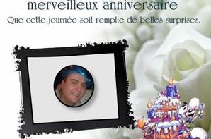 4 février  anniversaire de mon fils michaël