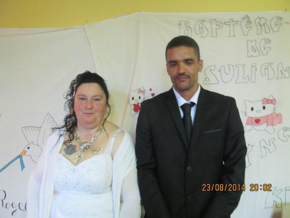 mariage de rachid et monique