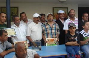 N°50 //Le malinois club de salé rend hommage aux champion de la saison 2012/2013