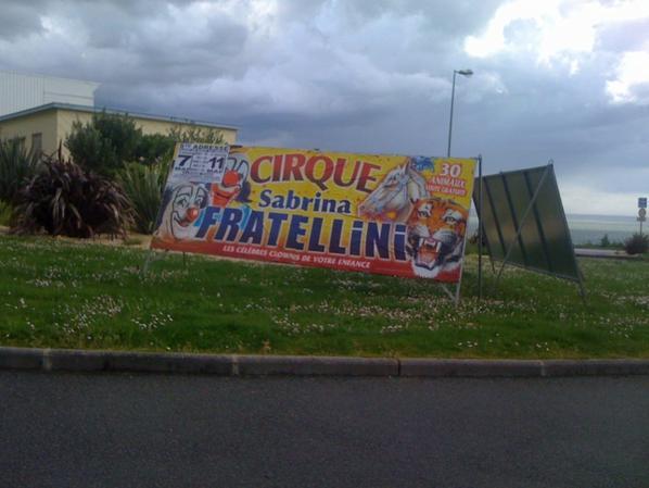 Le cirque Sabrina Fratellini