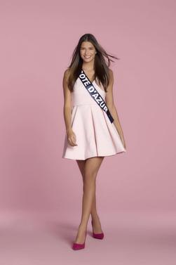 Miss Côte D'azur 2017 : Julia Sidi Atman