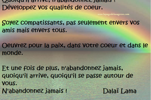 Les Citations du Dalaï Lama