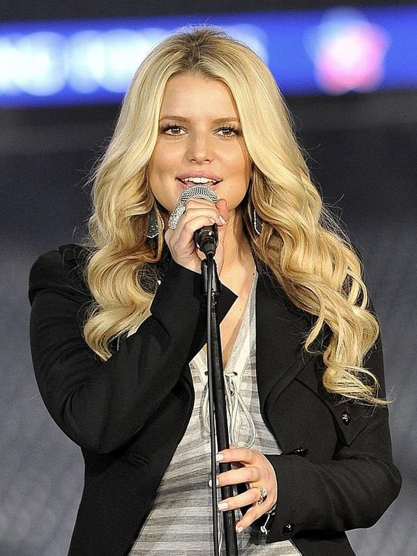Belle blonde : Jessica Simpson