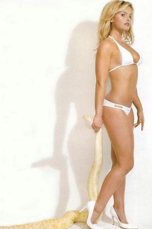 Belle blonde : Fátima Moreira De Melo