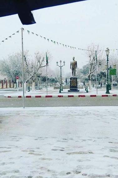 Snowy days in Tlemcen 2017