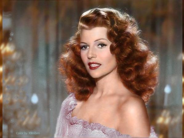 Rita Hayworth avant et après
