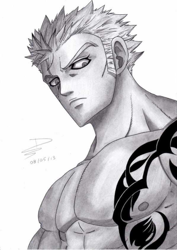 15ème Dessin : Luxus ( Fairy Tail ) !