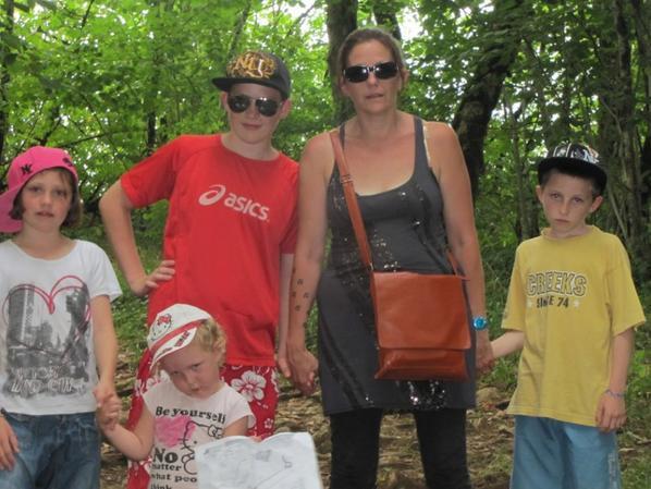 Ma tribu avec leur maman