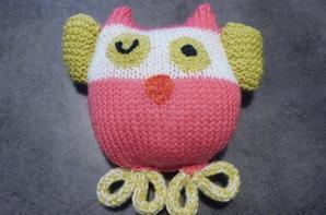 Doudous au tricot
