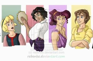Princesses Garçons
