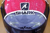 casque moto shark RSF AIR peint au pistolet et à l'aérographe