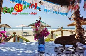 Photo de la plage de Cap Skirring