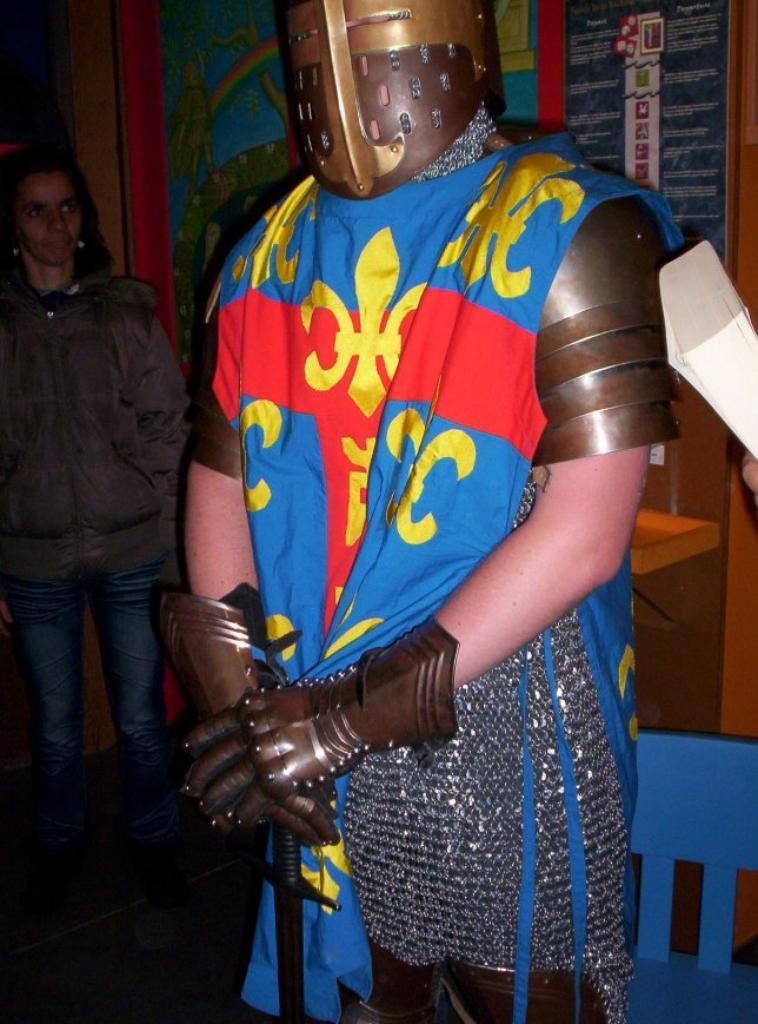 mon fils en chevalier