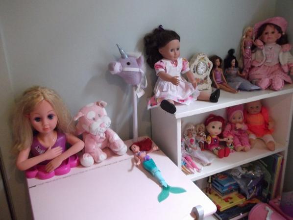 petite collection de ma petite-fille