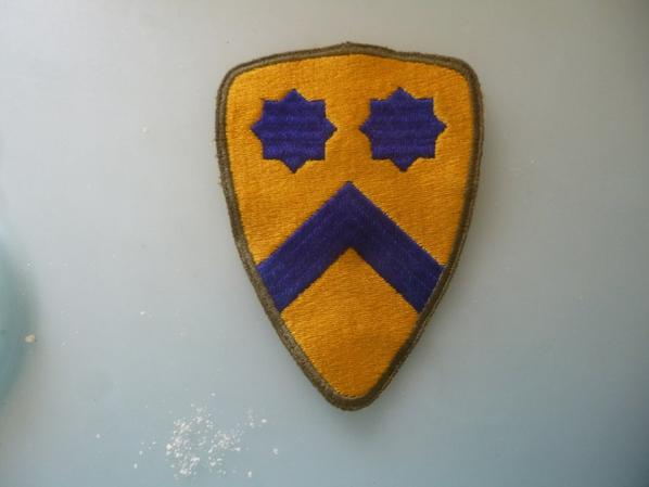 patch 2e cavalry division us