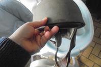 casque motocycliste anglais
