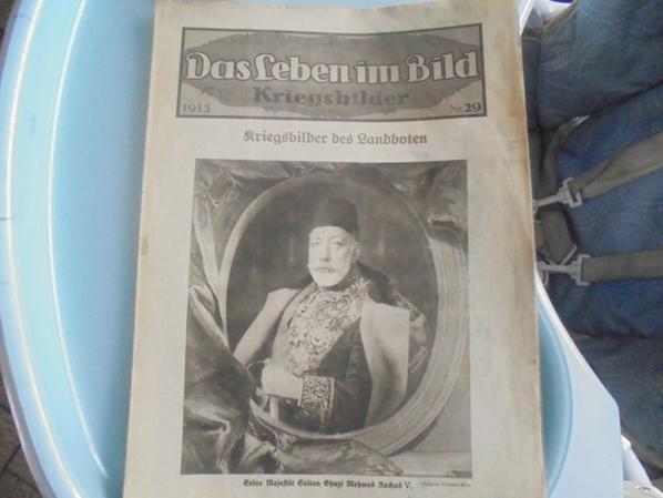 journal allemand de 1915