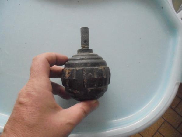 grenade a main kugel modèle 15