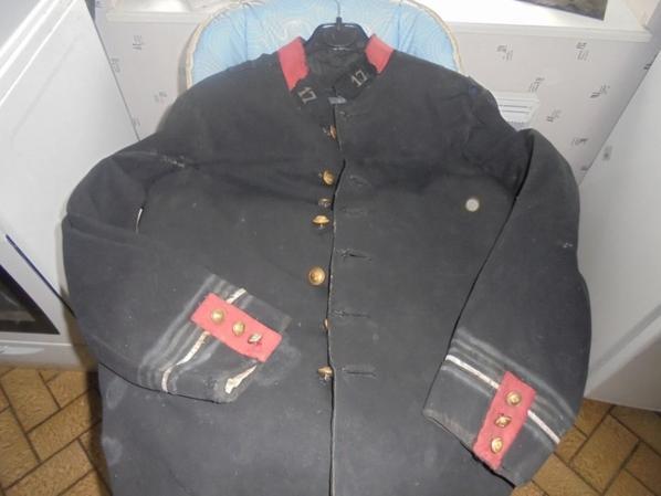 veste de sous lieutenant du 17 RI
