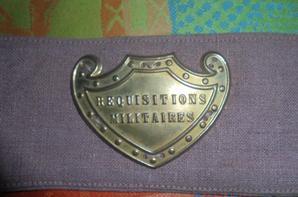 BRASSARD REQUISITION MILITAIRE
