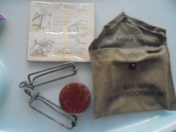 kit de reparation de masque a gaz us