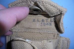 pochette a munitions canadienne en webb