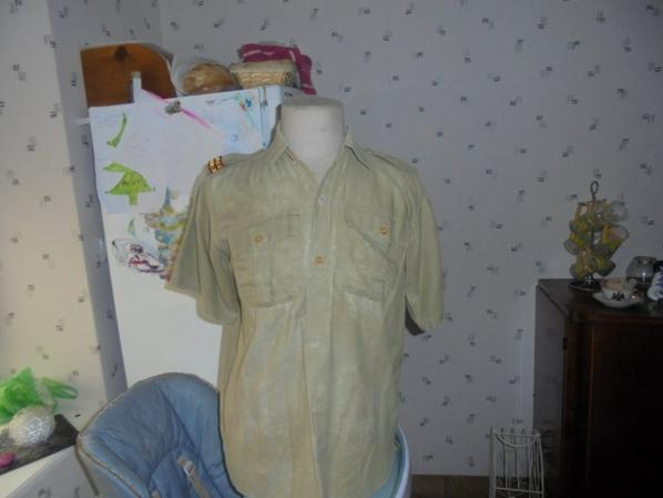 chemise fabrication locale indo /algerie
