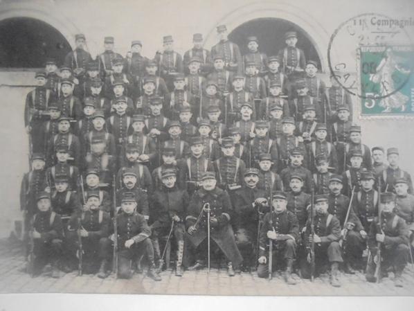 carte photos de la 11e compagnie du 129 régiment d infanterie