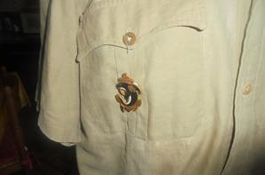 chemise fabrication locale indo /algerie du 21 e RIC