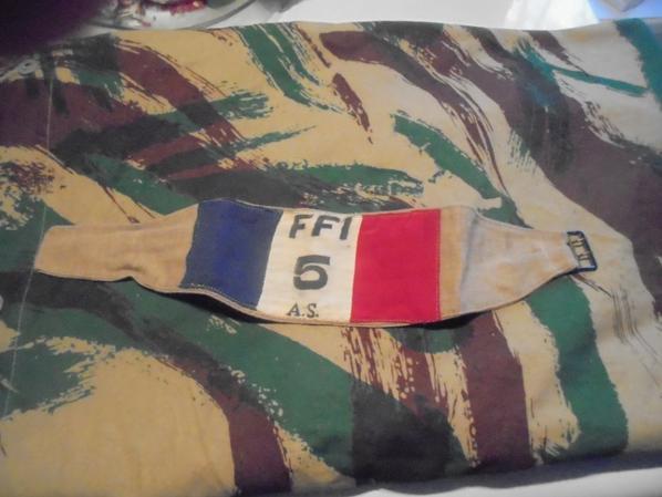 brassard des forces francaise de l interieur (F.F.I)