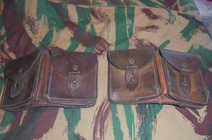 ensemble en cuir francais INDO /ALGERIE