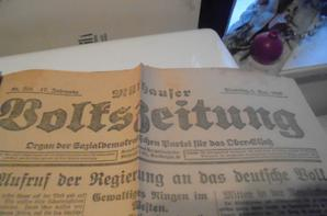 journaux allemand de novembre 1918