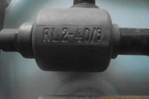 gros plan sur la pompe luftschutz