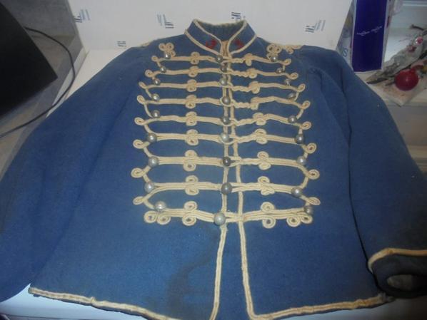 suite du dolman du 3 regiment de hussards