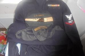 tenue du marin HALL de l US NAVY
