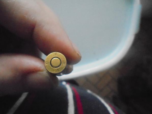 4 cartouches de 9mm italienne