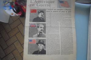 3 tracts l amerique en guerre et deux contrefacons de vichy