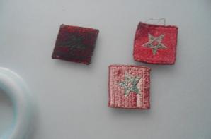 3 insigne de la 4 division marocaine de montagne FFL