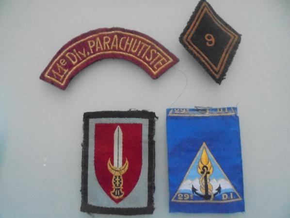 divers insignes francais