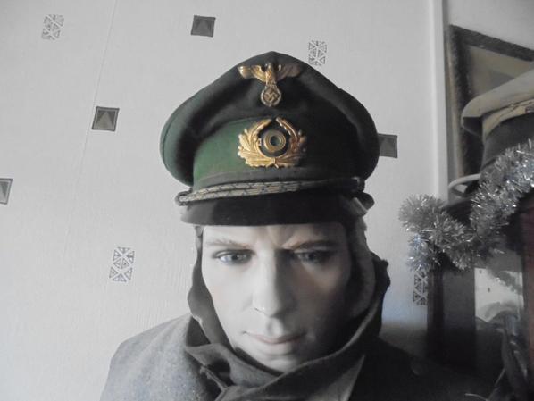 casquette de garde des forets et des eaux allemand