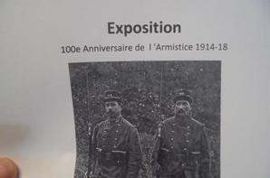 exposition pour le centenaire de l armistice