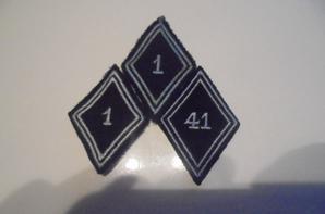 lot de losanges modele 45 armée francaise