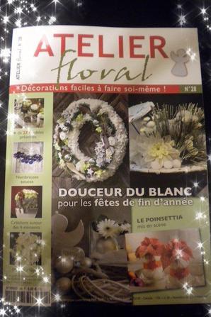"""Concours du  magazine Atelier Floral n°28 :""""Expression libre"""""""
