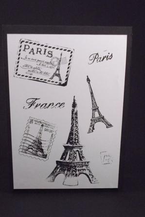 kirigami tour Eiffel