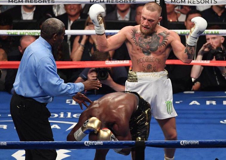 Lol ... Floyd Mayweather et Conor McGregor se traînent les uns les autres sur les médias sociaux, partagent des photos de leur méga combat pour se moquer les uns des autres (Photos)