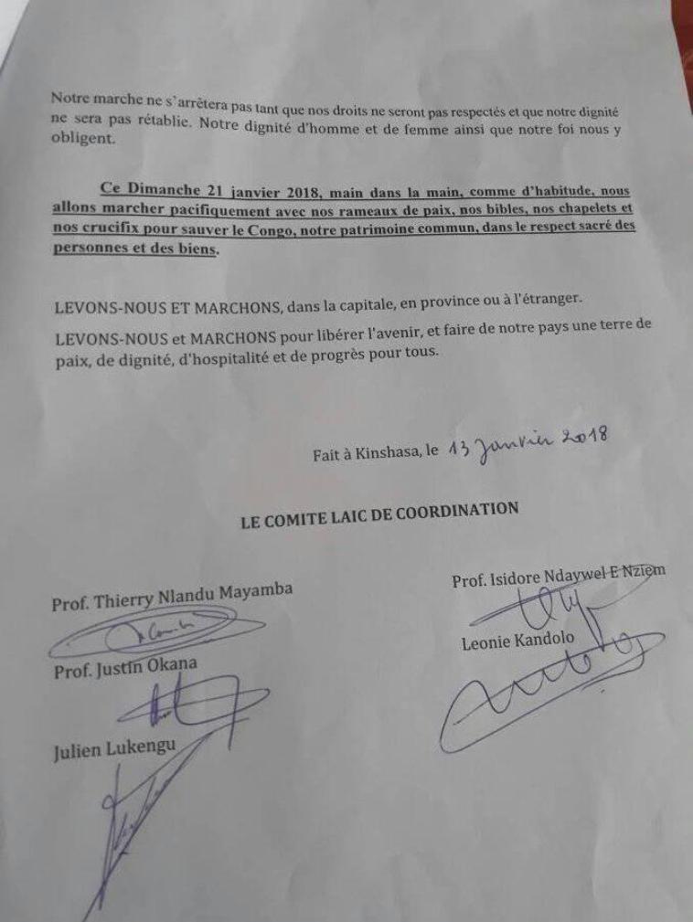 UNE LETTRE POUR TOUT LES CONGOLAIS DELA RDC