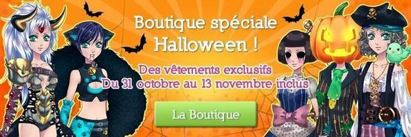 Halloween sur Amour Sucré