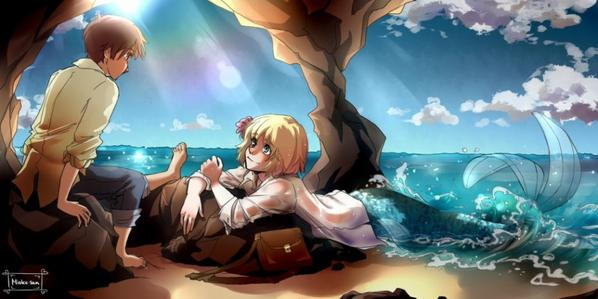 Attack On Titan mermaids